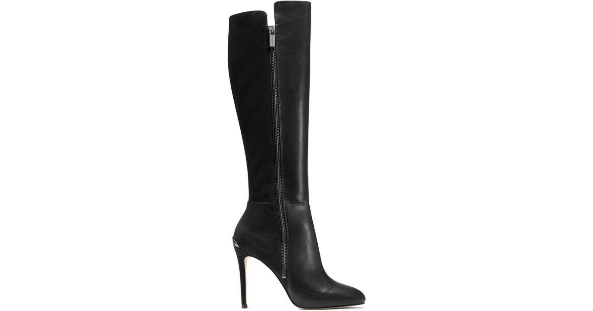 michael kors high heel boots 28 images michael michael kors clara high heel boots in black. Black Bedroom Furniture Sets. Home Design Ideas