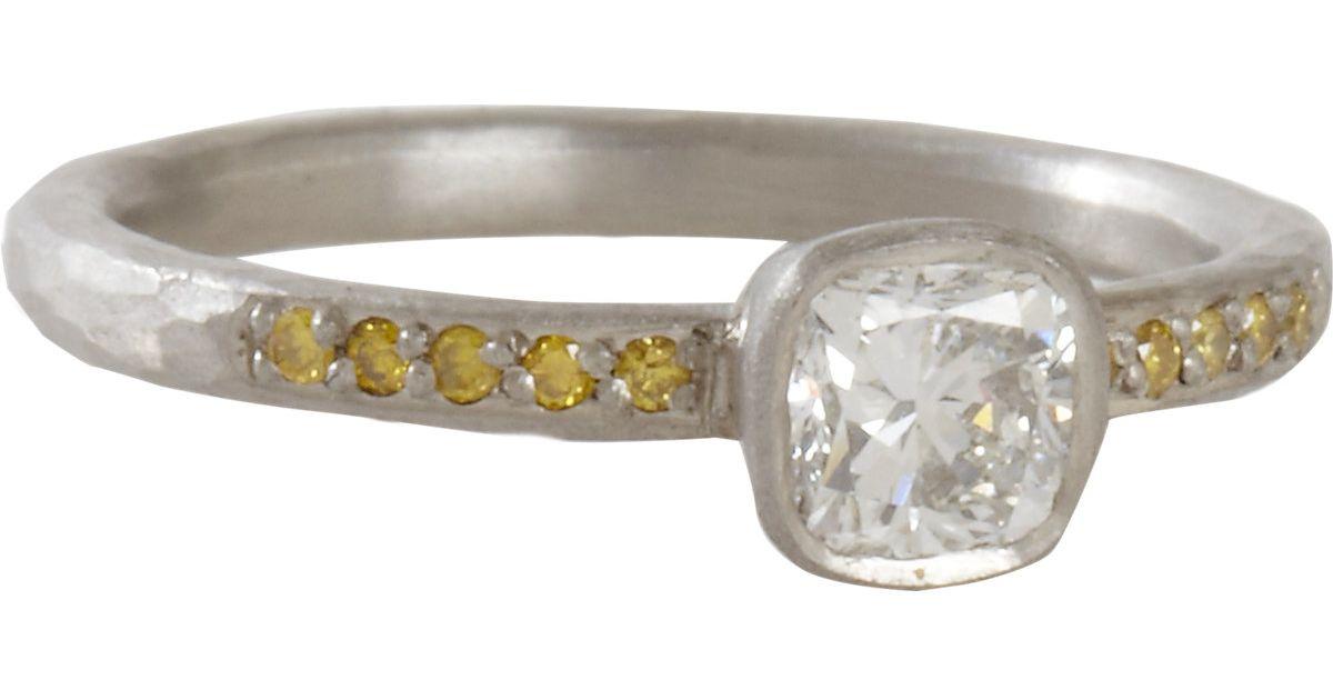 Womens Mixed-Diamond Ring Malcolm Betts 3zR3Jkq