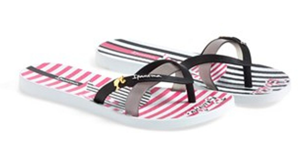 875fe7bfc93e Lyst - Ipanema  Barbie Elegance  Flip Flop in Black