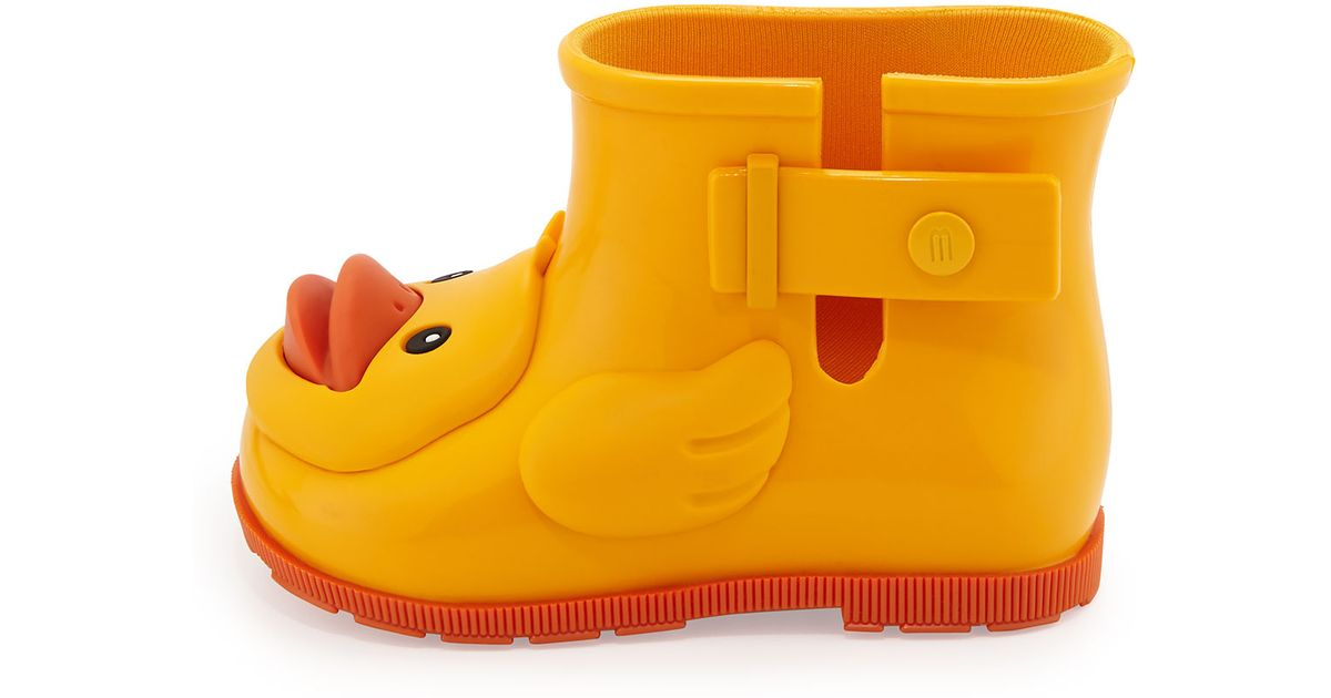 Melissa Sugar Rain Rubber Ducky Rainboot In Yellow Lyst
