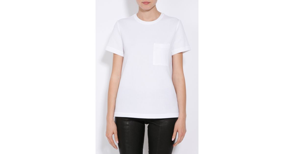 Discount Free Shipping Amazing Price Cheap Price Womens Cotton-Blend Neoprene Jersey T-Shirt Proenza Schouler Clearance Low Cost Best Sale Sale Online Clearance New Styles YOWgJ8ot