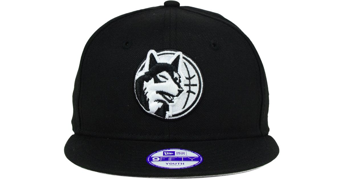 newest a7ea0 dc1ec top quality mens minnesota timberwolves new era black 9forty adjustable hat  a8f17 784b5  discount lyst ktz kids minnesota timberwolves black white  9fifty ...