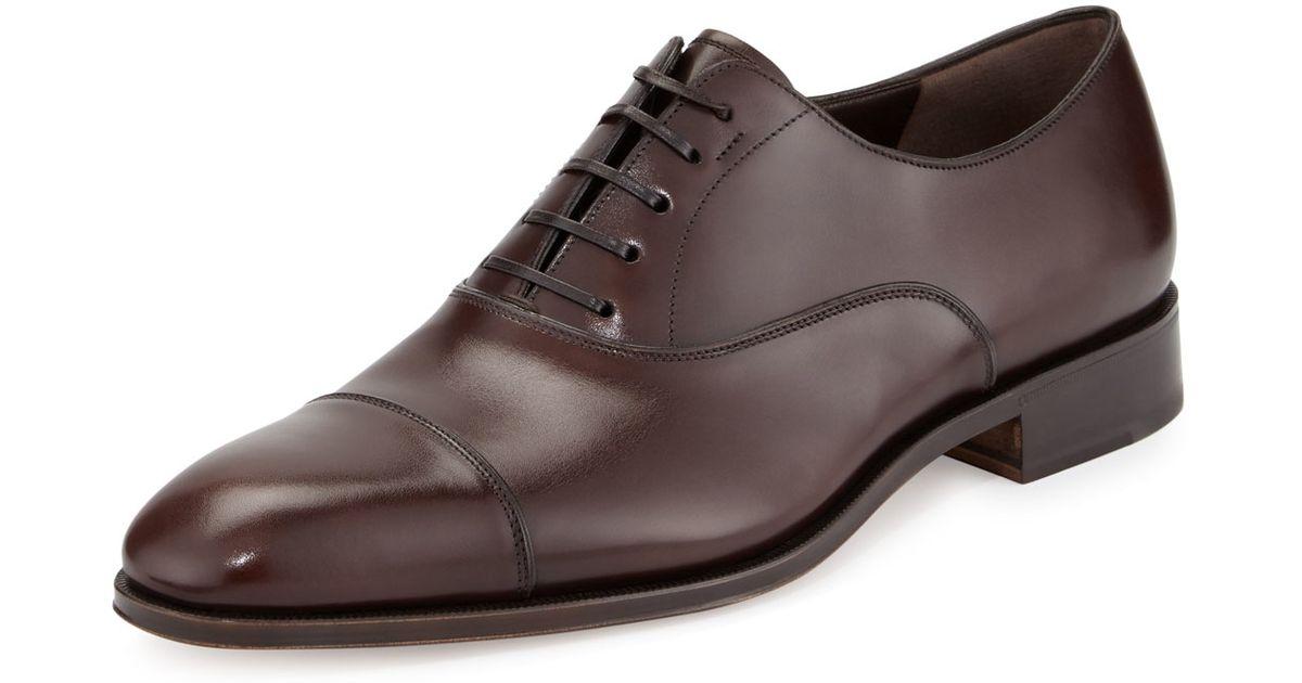 Salvatore Ferragamo Womens Oxford Shoes