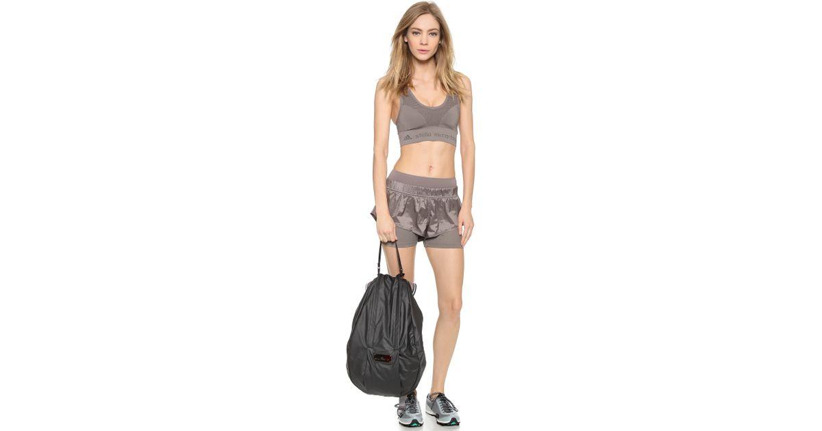 99e2e976fe Lyst - adidas By Stella McCartney Running Cycling Backpack - Black gunmetal  in Black