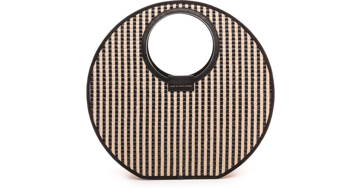 907f8796613a Lyst - Marc By Marc Jacobs Isle De Sea Tote Black Stripe Multi in Black