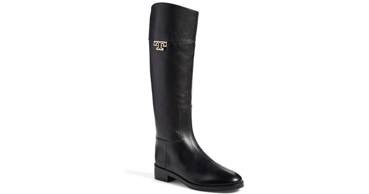 aa69f9f18e2a Lyst - Tory Burch  Joanna  Riding Boot in Black