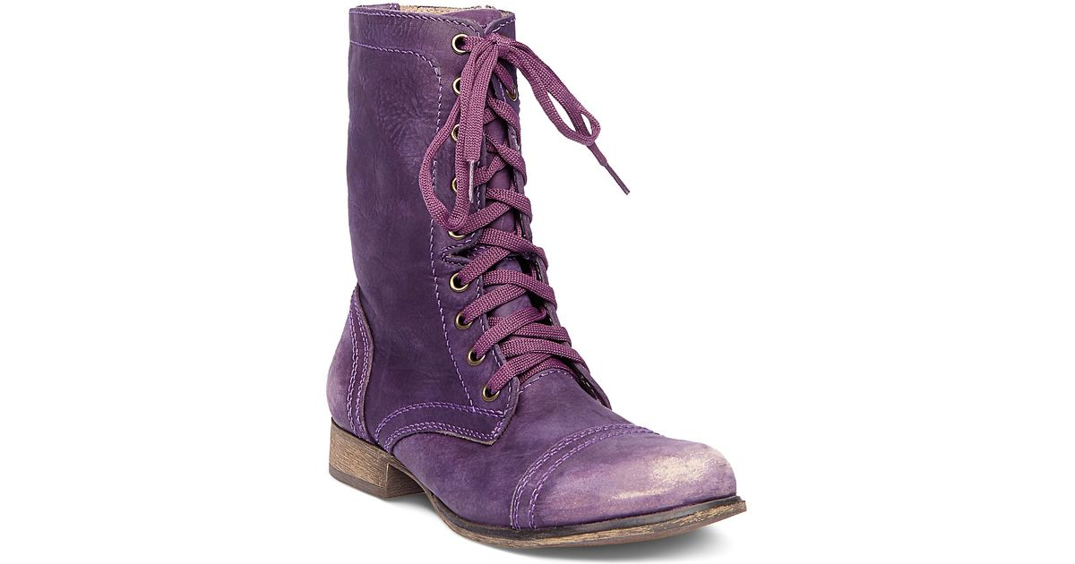 1946fb41dbb Lyst - Steve Madden Troopa in Purple