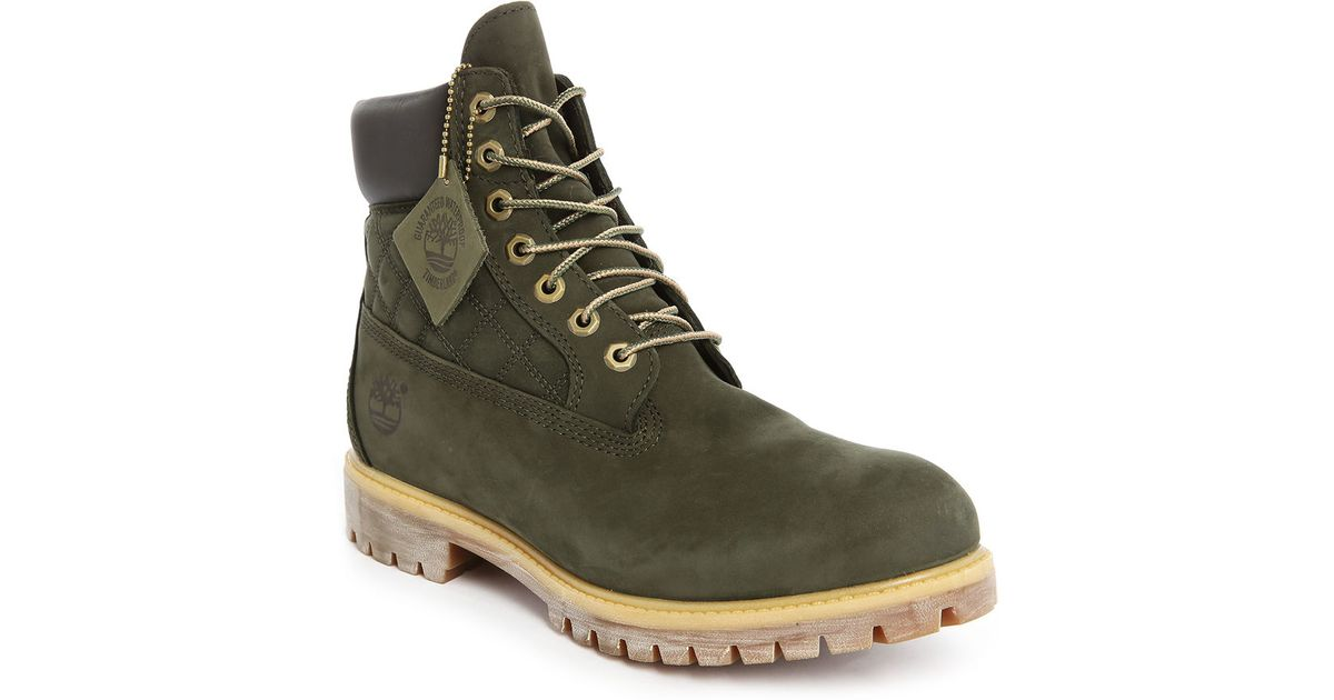Brilliant Mens Timberland 6 Inch Premium Distressesd Dark Olive Boots-Olive Green-8.5 Amazon.co.uk Shoes ...