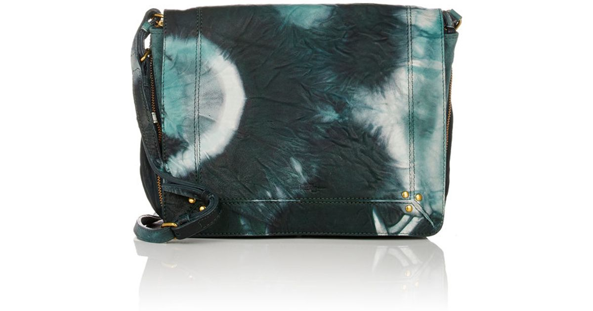 1b8d4653d Jérôme Dreyfuss Igor Small Messenger Bag in Green - Lyst