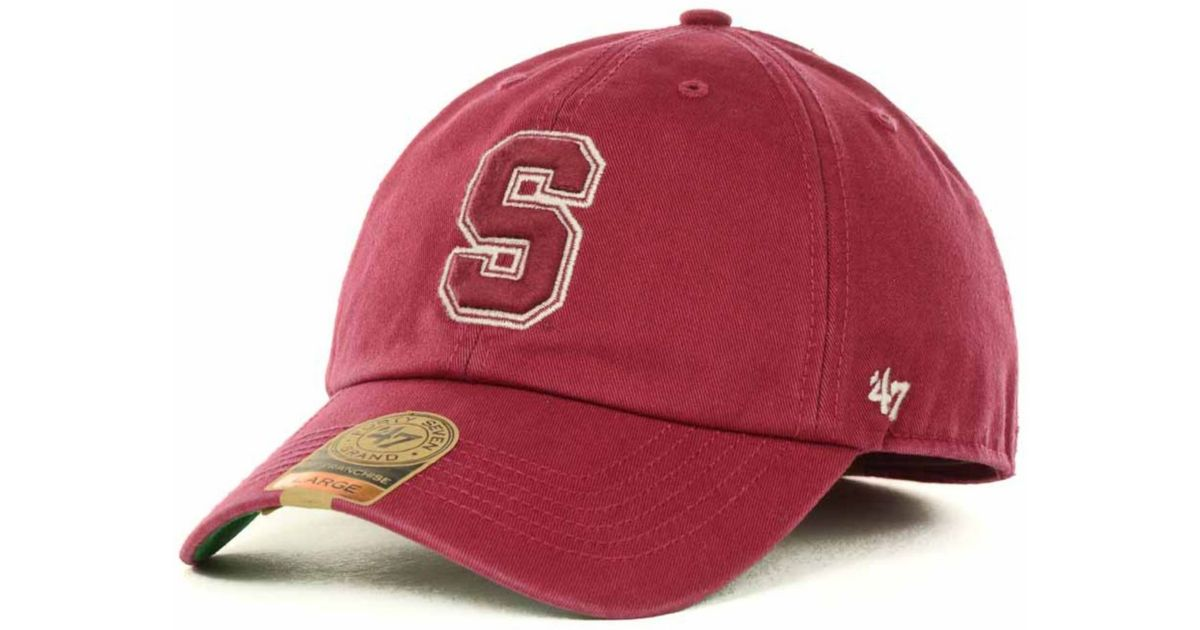c5ccad840fa Lyst - 47 Brand Stanford Cardinal Franchise Cap in Red for Men