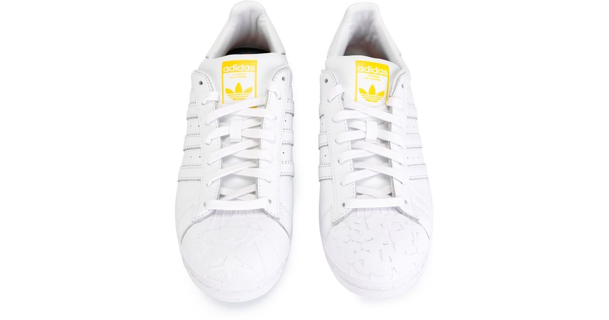 finest selection debe2 773a7 adidas  superstar Pharrell Supershell  Sneakers in White for Men - Lyst