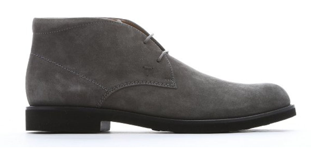 Tod's lace-up desert boots sale classic MLeFmmm3vw