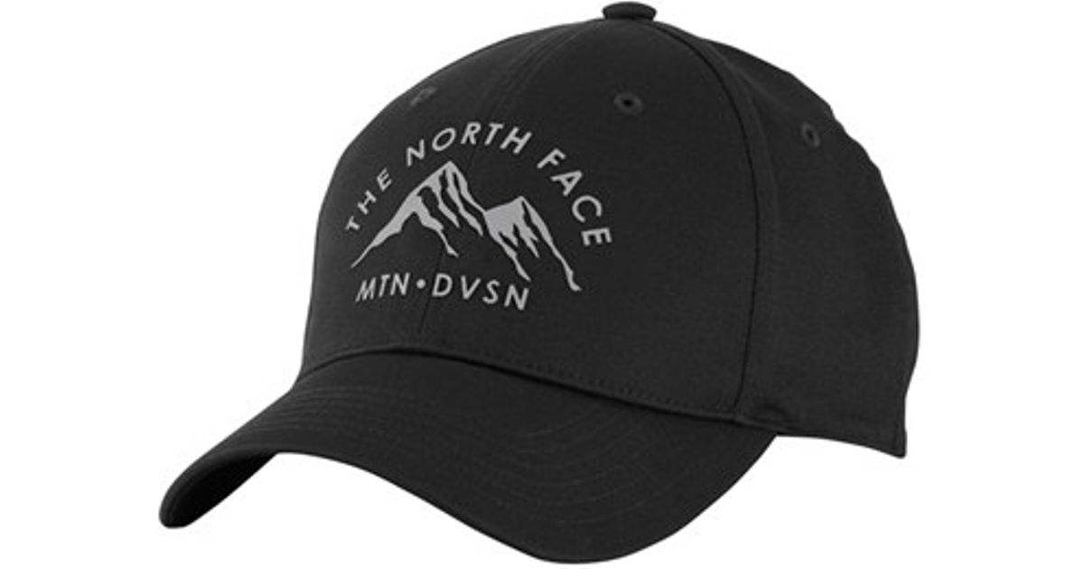 Lyst - The North Face  high Density  Baseball Cap in Black for Men f38311d2398
