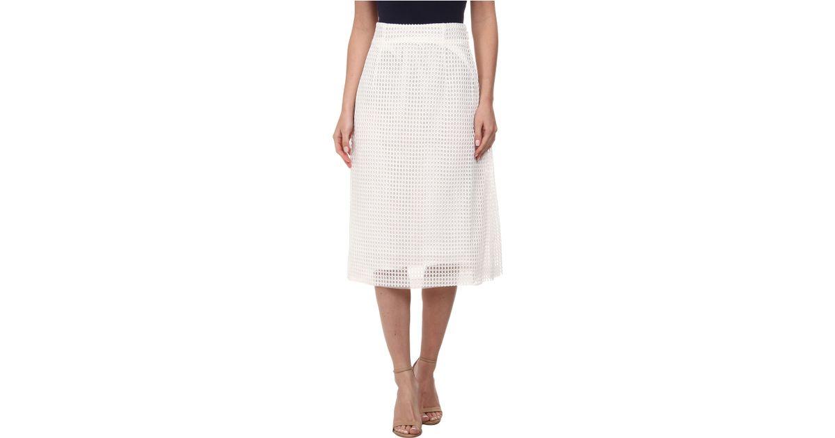 Summer White Skirt