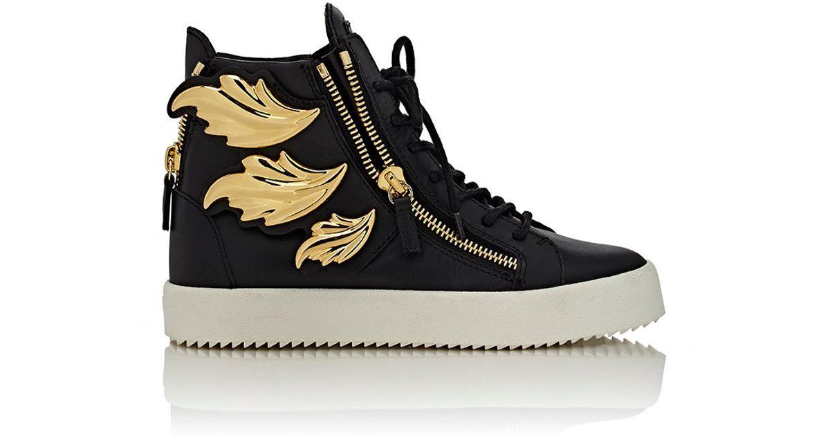 Lyst - Giuseppe Zanotti cruel Double-zip Sneakers in Black 342b45e22cb1