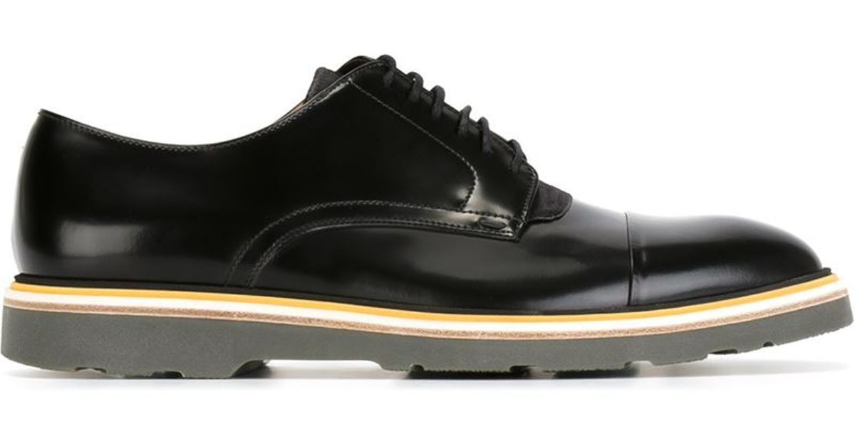 paul smith black shoes in black for lyst