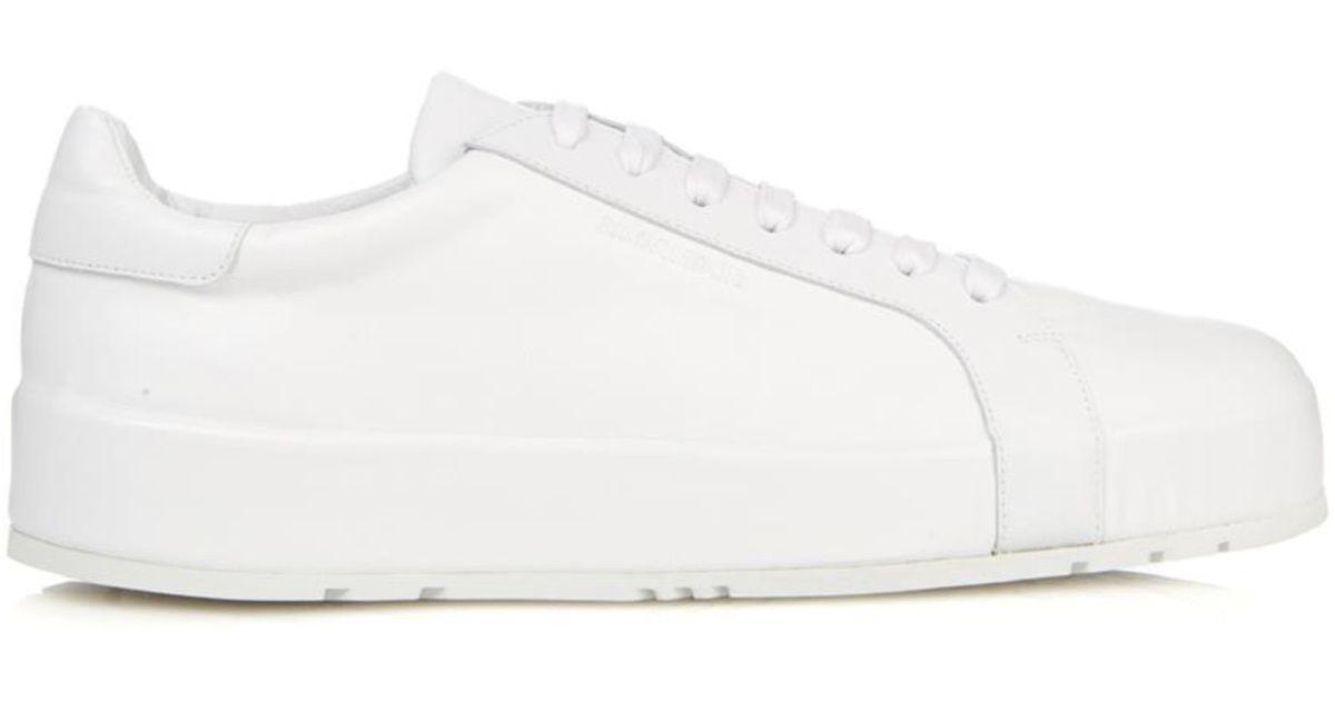 Jil Sander Leather Sneakers Gr. EU 45