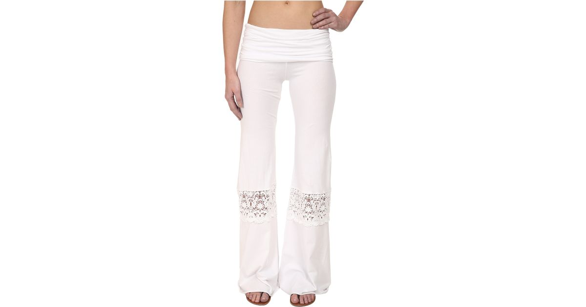 Nightcap Crochet Beach Pants In White Lyst