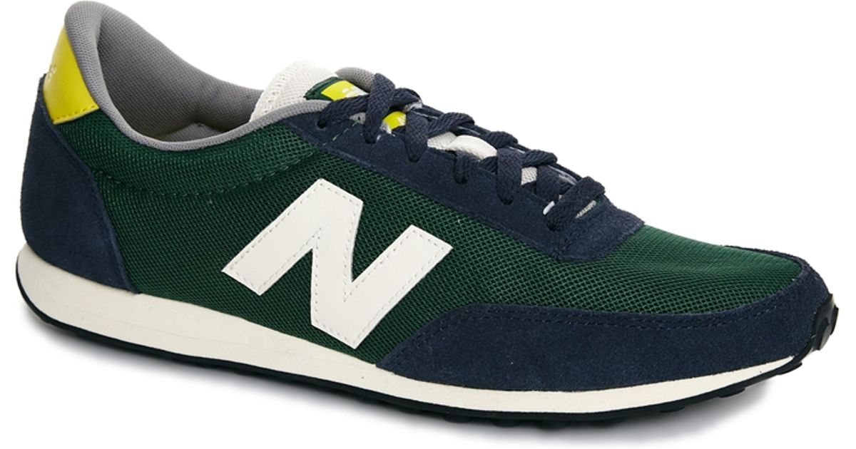 buy online b5123 f1409 Lyst - New Balance 410 Mesh Trainers in Green for Men