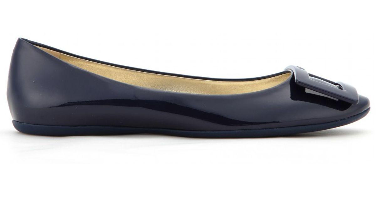 Gommette Patent Leather Ballerinas Roger Vivier KhxvuM8n8