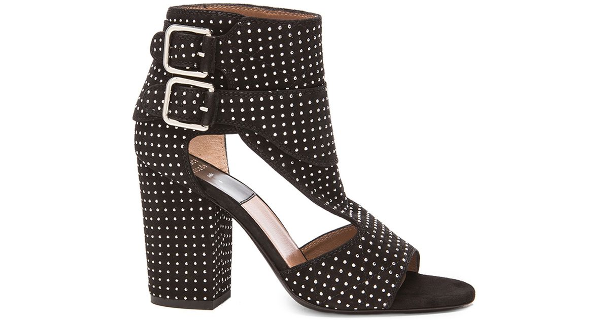LAURENCE DACADE 95MM RUSH STARS CUTOUT LEATHER BOOTS pBNOctt9A