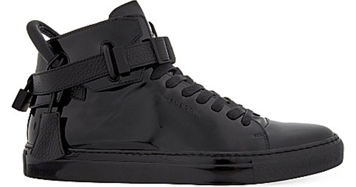high-top trainers - Black Buscemi 5eHlFk7