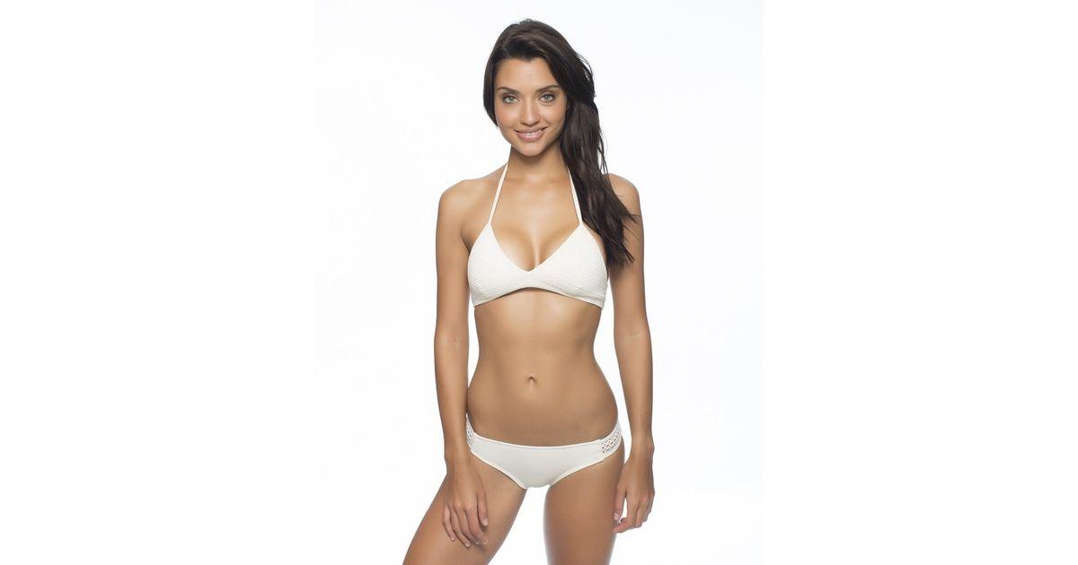 3e4199e62bc21 Lyst - Reef Bali Breeze Bralette Bikini Top in White