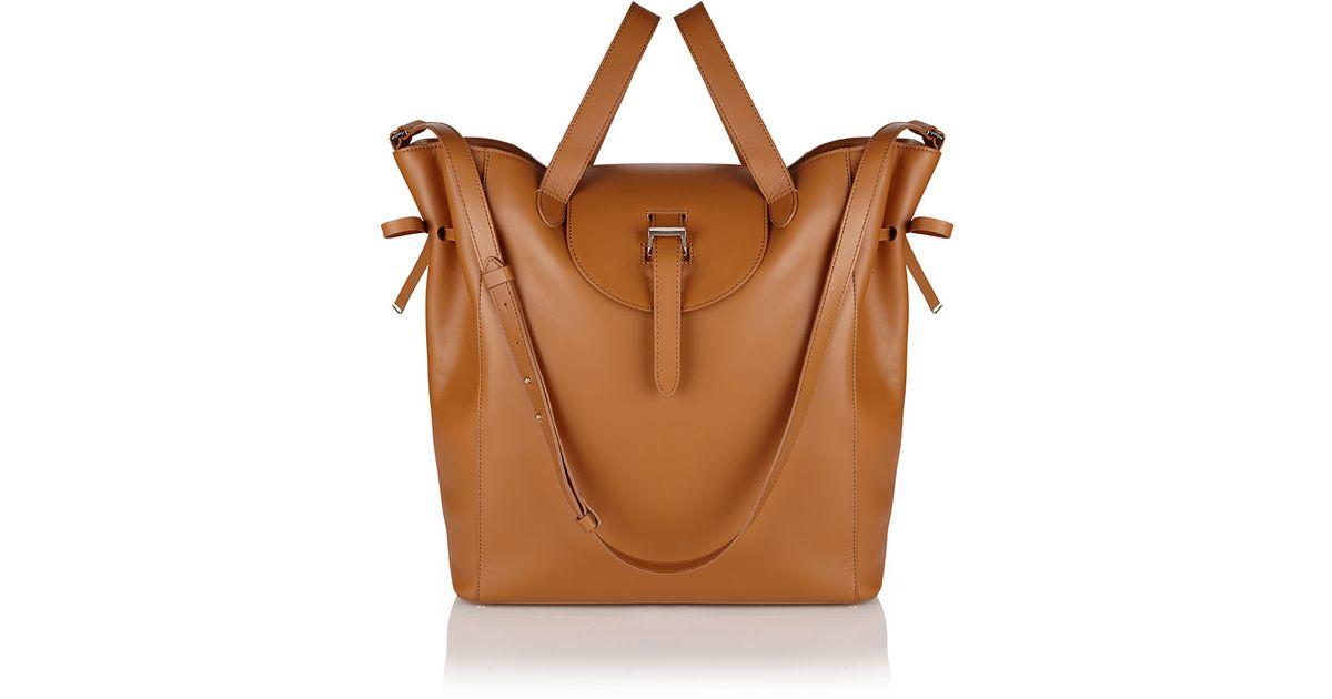 368e0f7d3e63 Lyst - meli melo Fleming Tote Bag In Tan in Brown