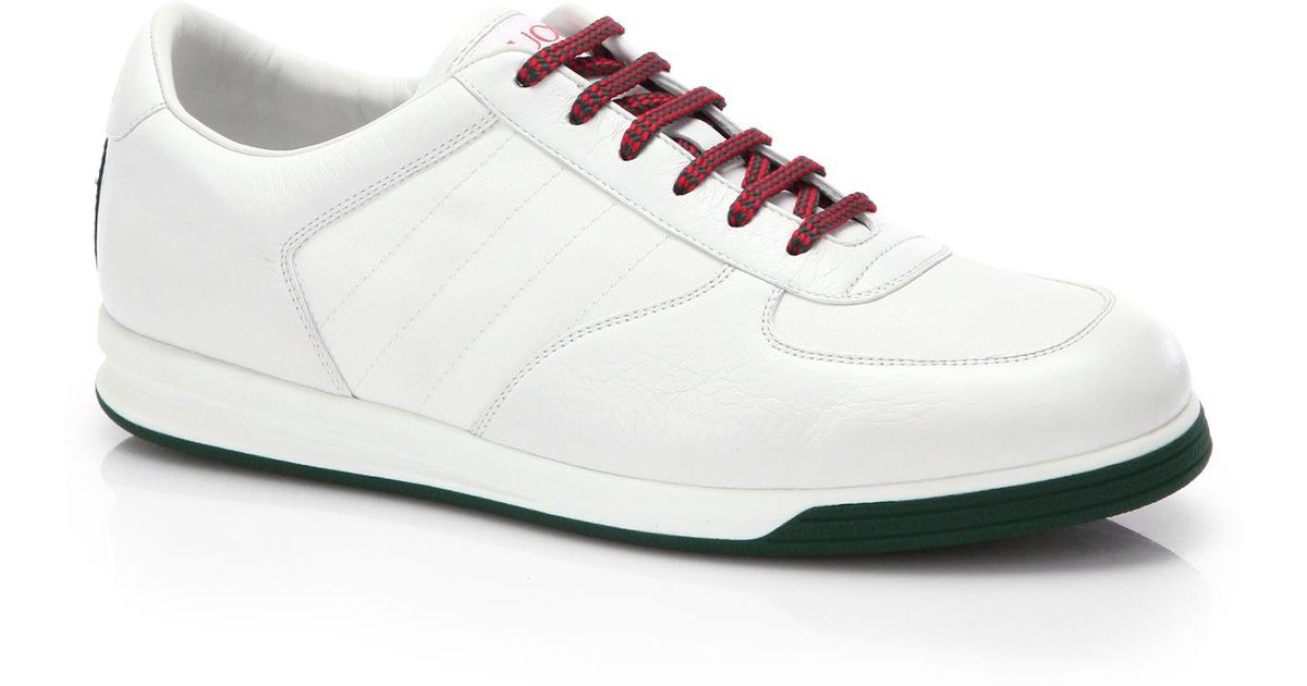 Gucci 1984 Leather Anniversary Sneakers In White For Men Lyst