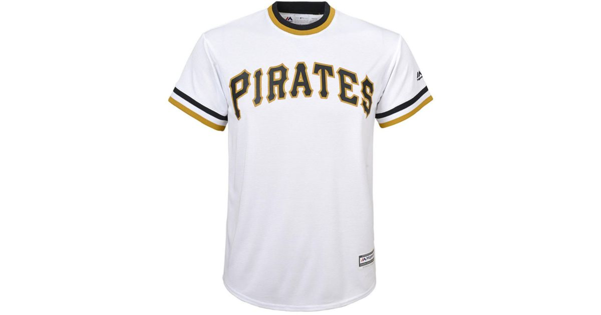 Lyst - Majestic Kids  Roberto Clemente Pittsburgh Pirates Cooperstown Jersey  in White for Men ab6e591b2