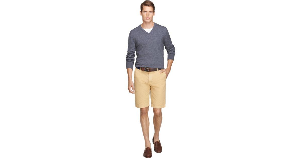 68ba1bcb55 Lyst - Brooks Brothers Garment-dyed 11