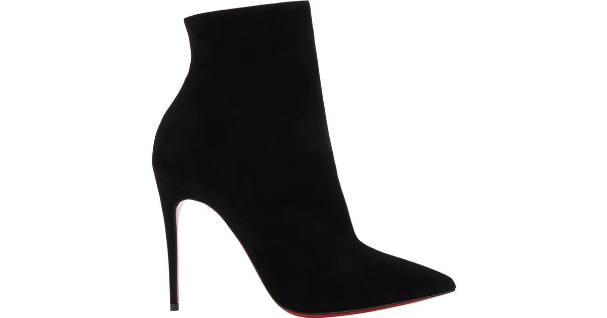 b1e53d5fef04 Lyst - Christian Louboutin So Kate Ankle Booties in Black