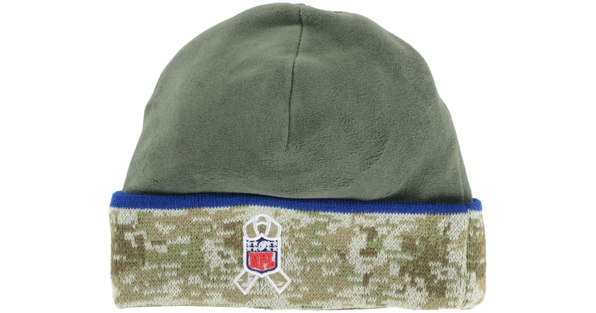 29bbdfe3260 Lyst - Ktz Indianapolis Colts Salute To Service Knit Hat in Green for Men