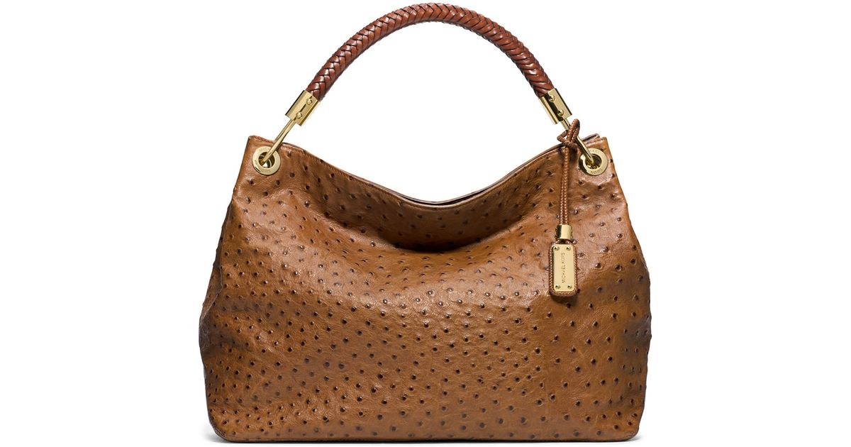 ccca0b05075438 Michael Kors Ostrich Handbags Foto Handbag All Collections