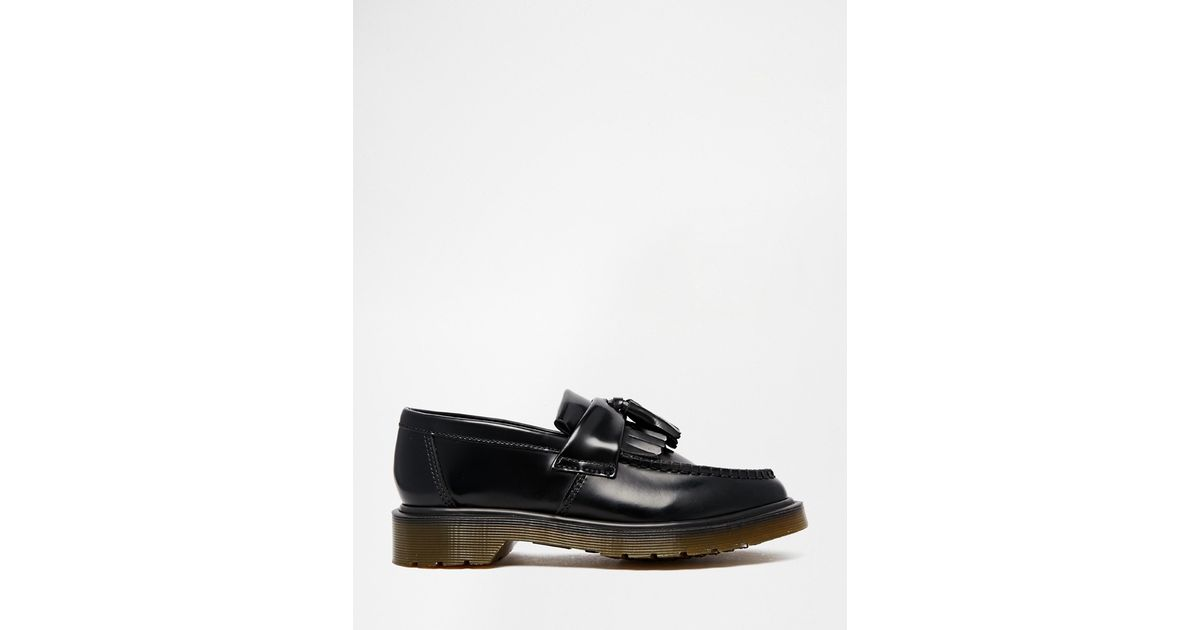 Dr. Martens Women's Gracia Brando Leather Tassel Flats - Oxblood - UK 3 prpfmtO4