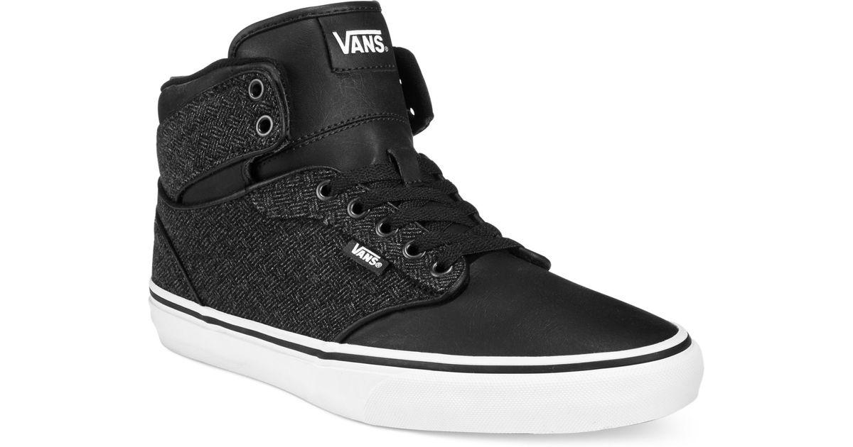 7c3dd50a0945 Lyst - Vans M Atwood Hi-top Sneakers in Black for Men