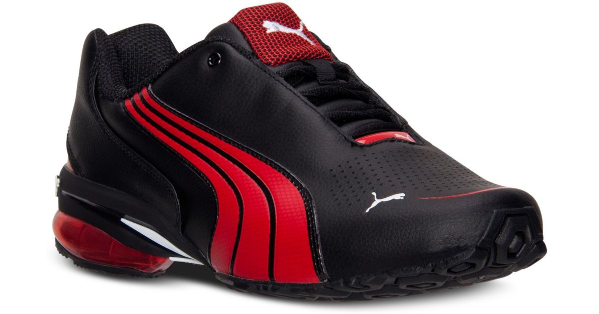 3657b6b447c Lyst - PUMA Men S Cell Jago 9 Running Sneakers From Finish Line in Red for  Men