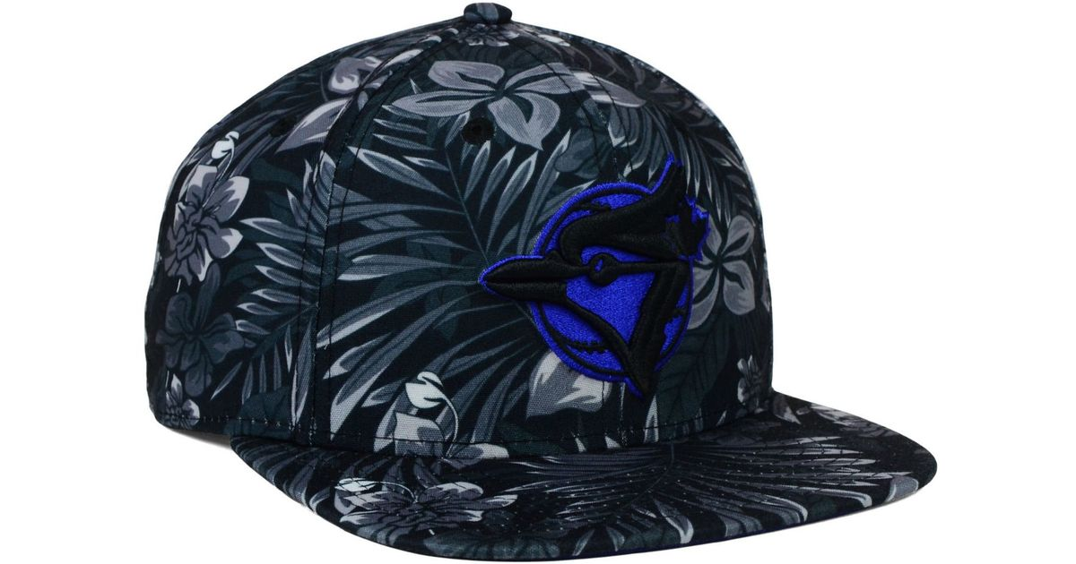 finest selection 83ce6 8f487 KTZ Toronto Blue Jays Night Tropic 9fifty Snapback Cap in Black for Men -  Lyst