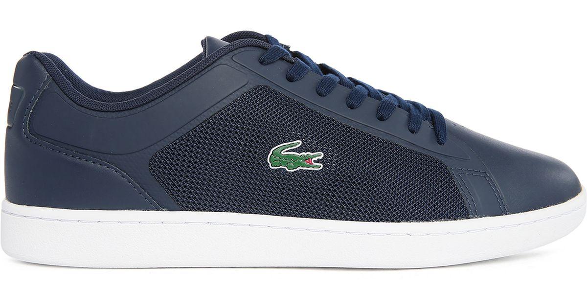 Lacoste Navy Endliner Low-top Sneakers in Blue for Men   Lyst