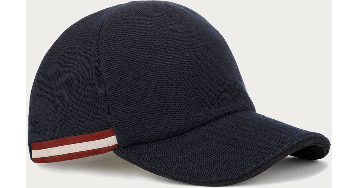 9bdc36d56f7 Lyst - Bally Baseball Hat in Blue for Men