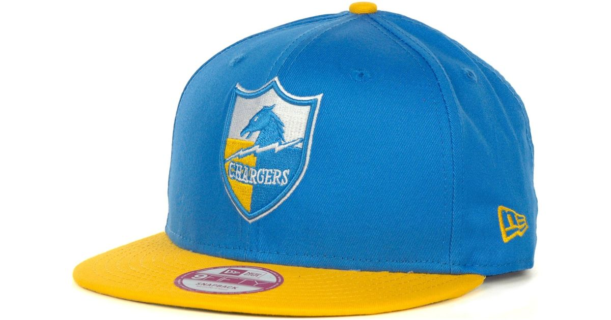 Lyst - KTZ San Diego Chargers 9fifty Snapback Hat in Blue for Men b1115401524