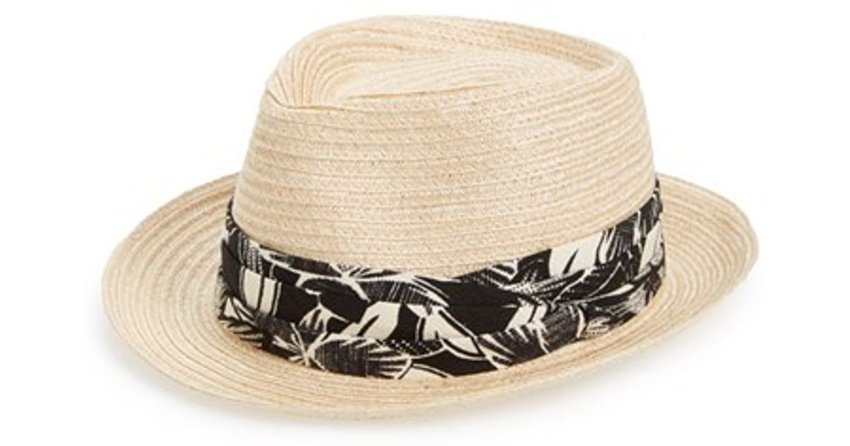 5ed7dbdc353 Lyst - Mr. Kim By Eugenia Kim  tony  Woven Hat in Natural for Men