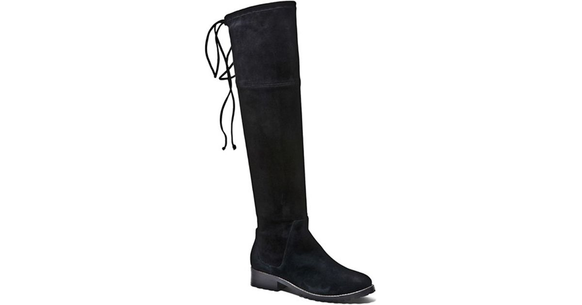 22dcaca9a4f Blondo  snow  Over The Knee Waterproof Boot in Black - Lyst