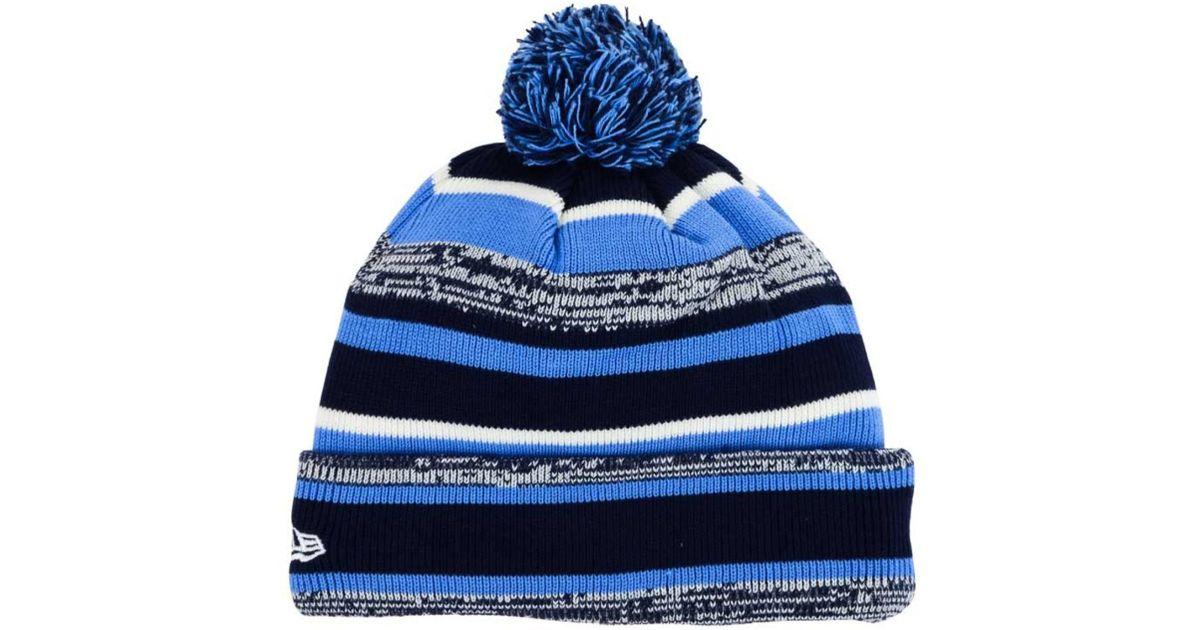 info for c4a77 ada26 ... best price lyst ktz villanova wildcats sport knit hat in blue for men  4afc6 0fd36 ...
