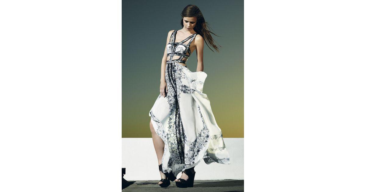 ade07665e6 Lyst - BCBGMAXAZRIA Runway Sidonia Dress