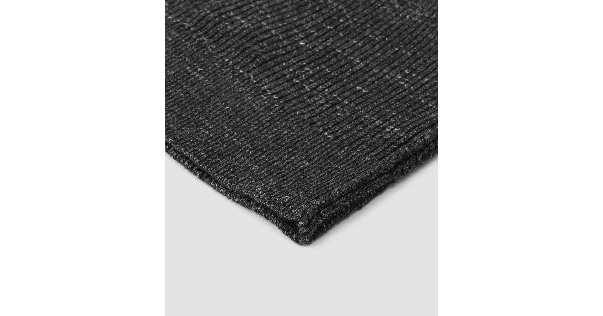 09914858 AllSaints - Black Ektarr Beanie Hat Usa Usa for Men - Lyst