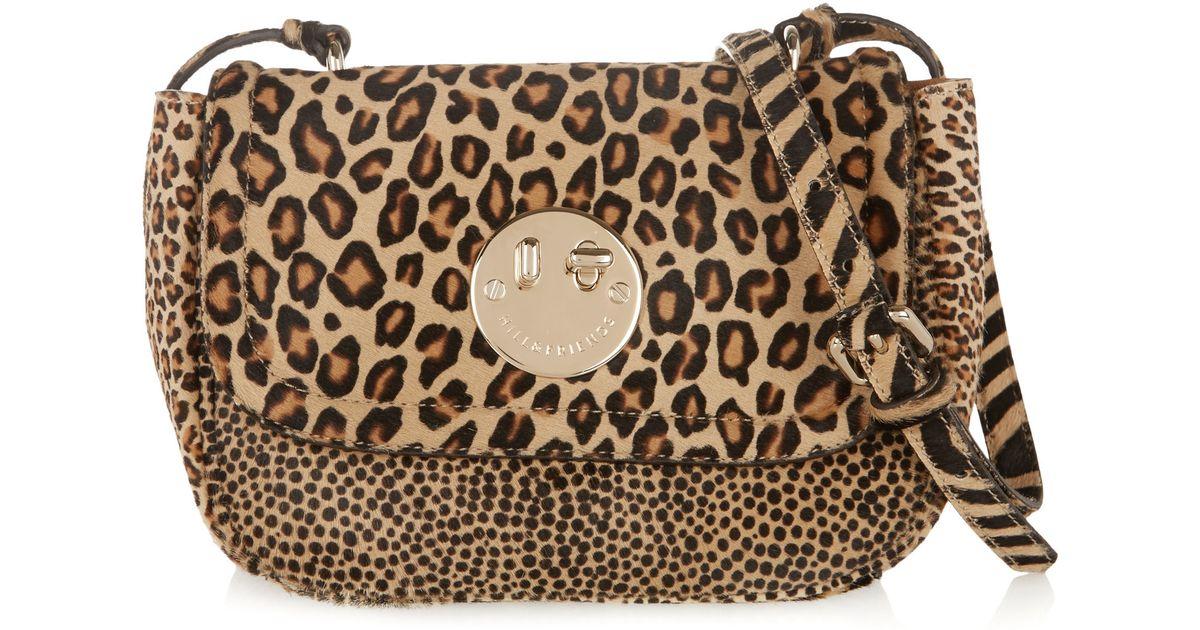 fadfb35d9cb4 Hill & Friends Happy Mini Animal-print Calf Hair Shoulder Bag - Lyst