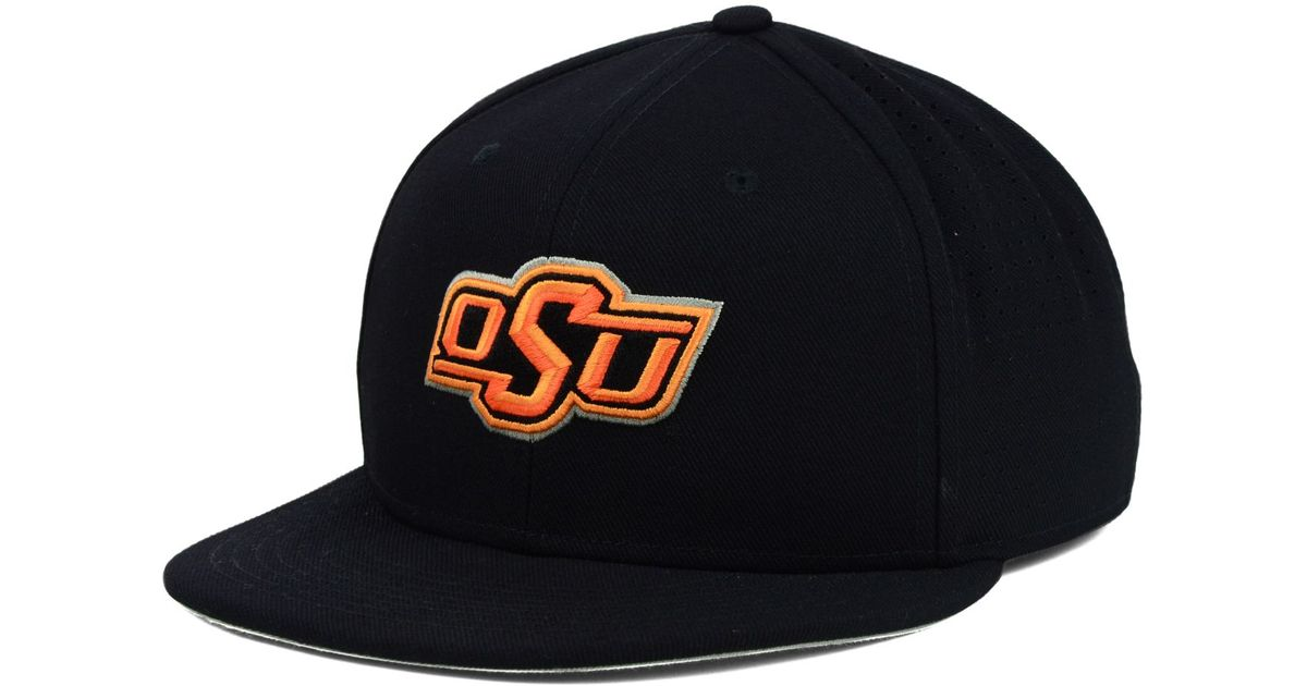 93853ea5321 Lyst - Nike Oklahoma State Cowboys Ncaa Authentic Vapor Fitted Cap in Black  for Men