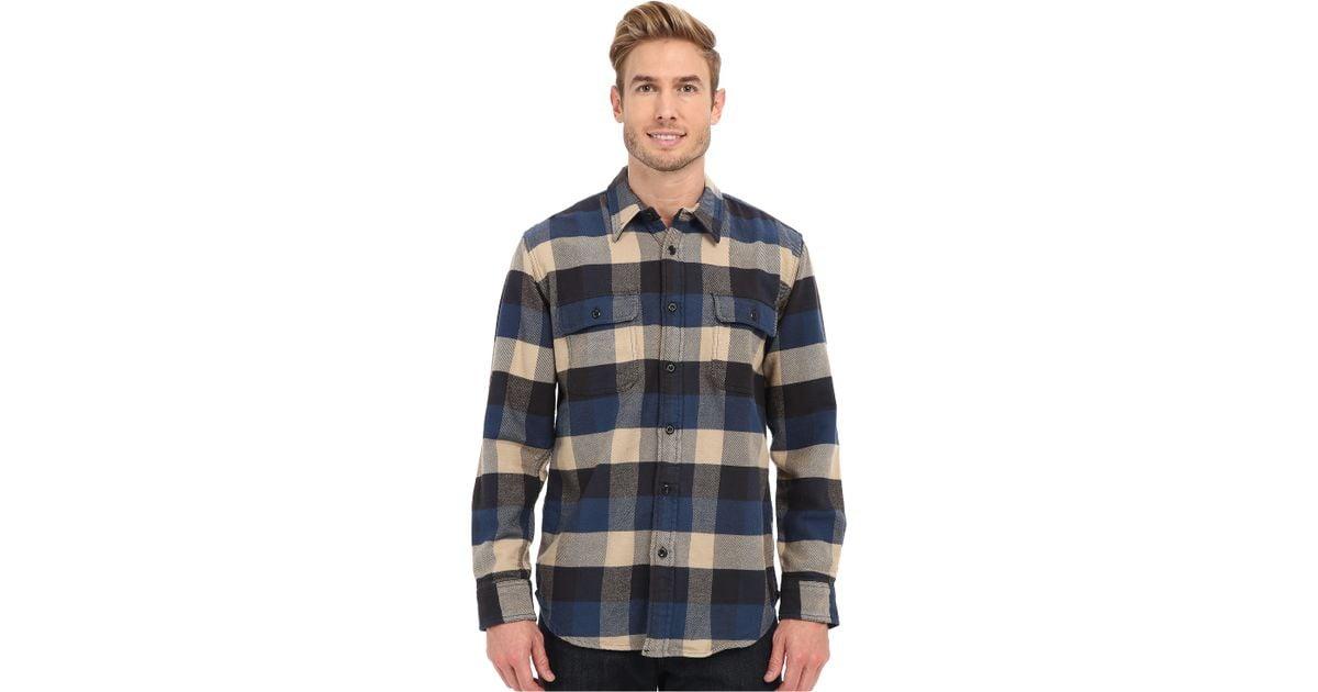 Blue Flannel Shirts For Men