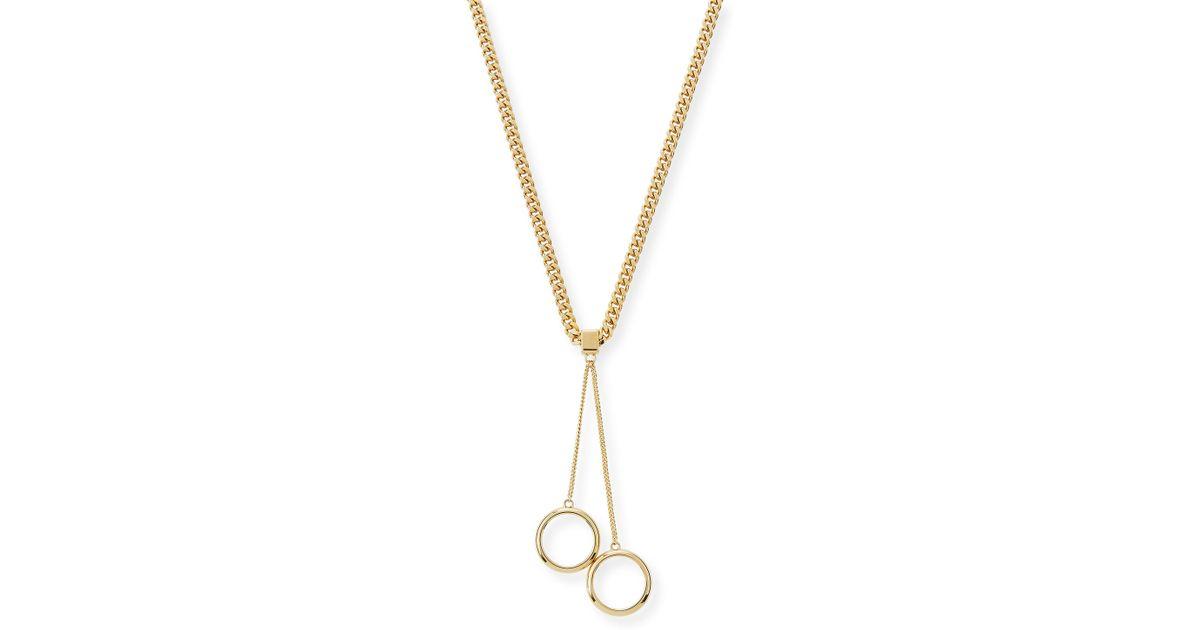 Chloé Lynn Short Necklace in Metallics YZ2bbnD0kc